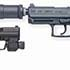 The HK416, The XM 320 and The DHS Handguns