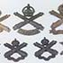 Canadian Machine Gun Badges 1914-1920